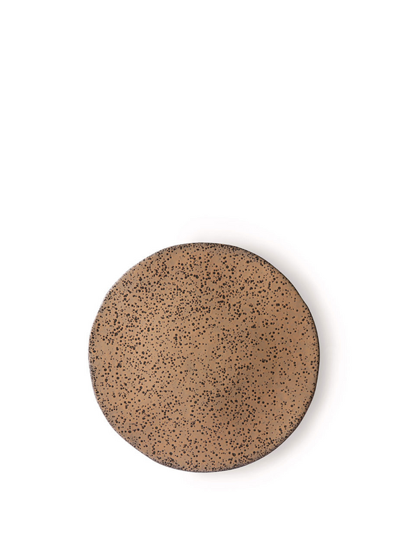 Gradient Ceramics Taupe Side Plate from HK Living