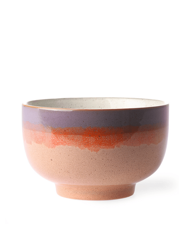 70's Style Bowl - Sunset
