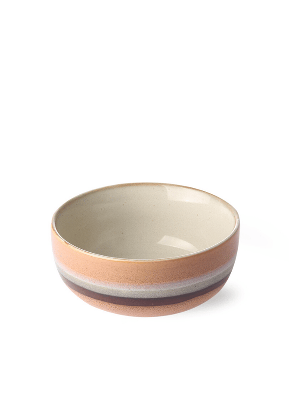 70's Style Small Bowl - Stream