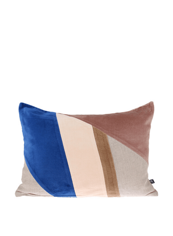 Velvet Patched Cushion