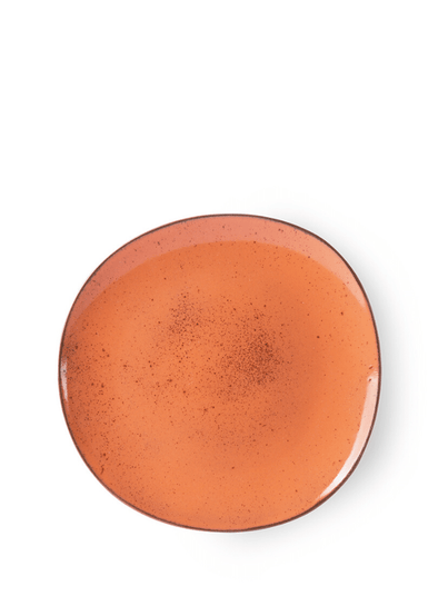 Bold & Basic Dinner Plate Peach