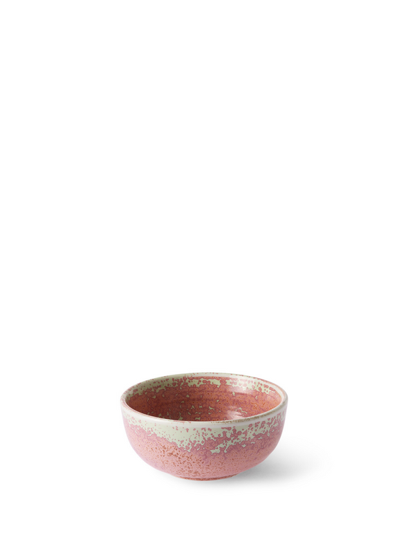 Home Chefs Ceramics Rustic Pink Bowl from HK Living