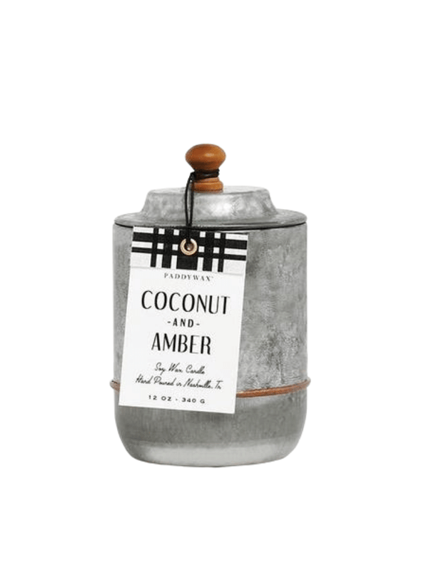 Homestead Coconut & Amber Candle from Paddywax