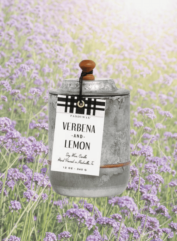 Homestead Verbena & Lemon Candle from Paddywax