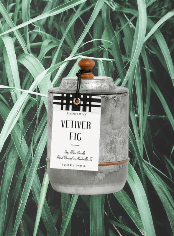 Homestead Vetiver Fig Candle from Paddywax