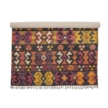 Multi Colour Cotton Rug from Bloomingville