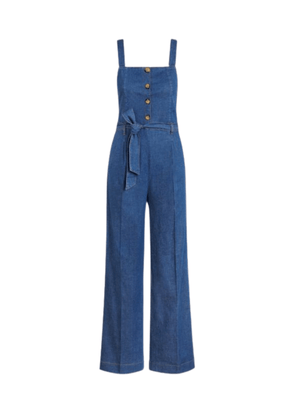 Ines, Chambray Jumpsuit in River Blue from King Louie