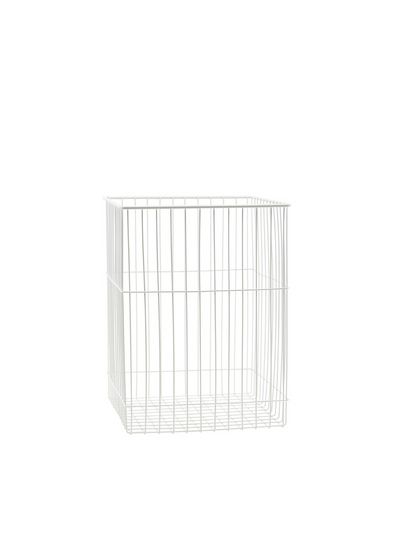Iron Wastepaper Basket From Monograph