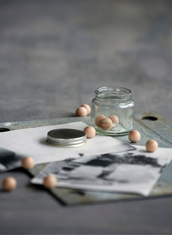 Jar of Magnets - Natural, From Monograph