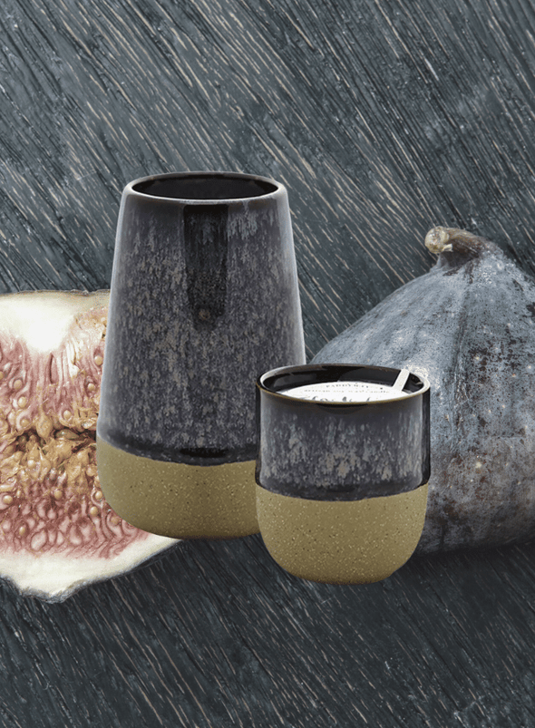 Kin Reactive Glaze - Black Fig & Rose Candle from Paddywax