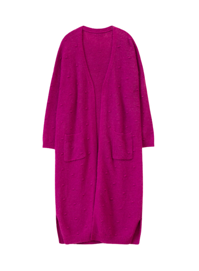Lalita Violet Long Cardigan from Frnch