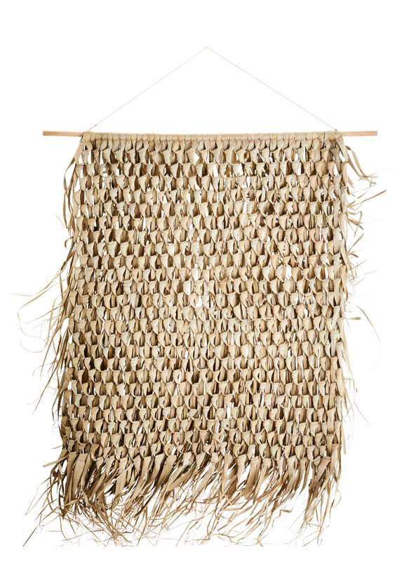 Large Palm Leaf Wall Hanging from Madam Stoltz