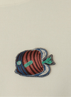Marine Life Fish Brooch from Nice Things