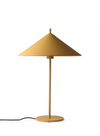 Metal Ochre Triangle Table Lamp from HK Living