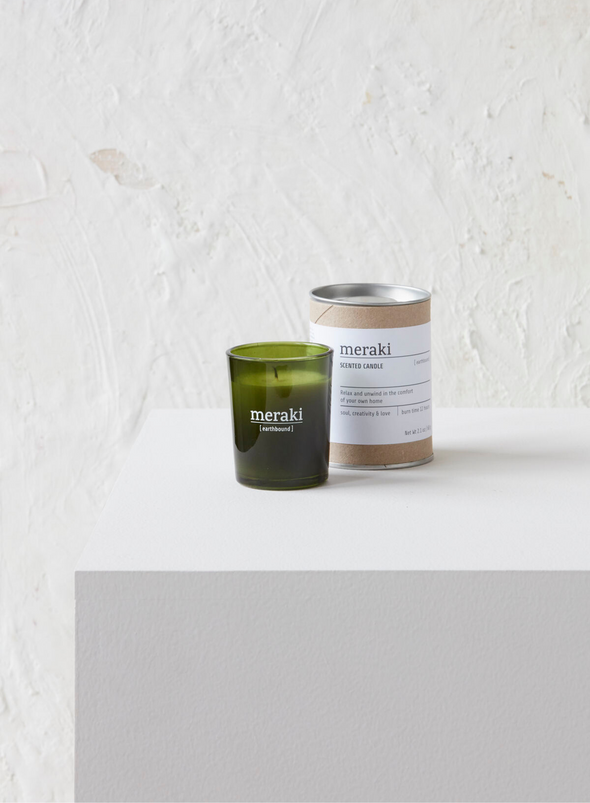 Mini Scented Candle - Earth Bound From Meraki