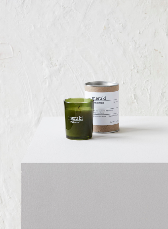 Mini Scented Candle - Fig & Apricot From Meraki