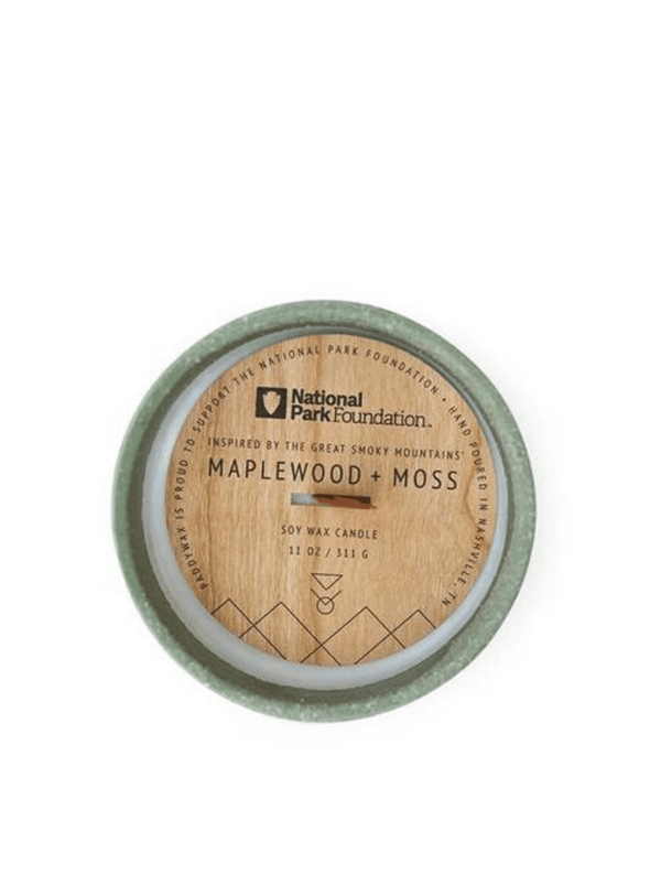 Parks Great Smoky Mountains Maplewood & Moss Candle from Paddywax