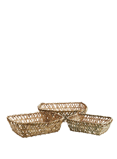 Rectangular Bamboo Basket from Madam Stoltz
