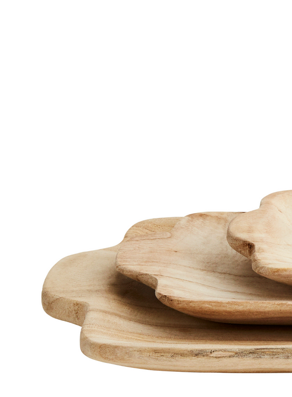Rectangular Natural Wooden Trays from Madam Stoltz