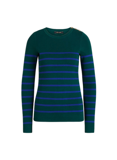 Roundneck Capanne Sweater in Pine Green from King Louie