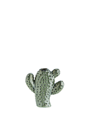 Small Cactus Vase in Green from Madam Stoltz