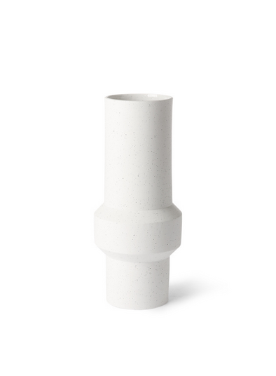 Speckled Clay Straight Medium Vase from HK Living