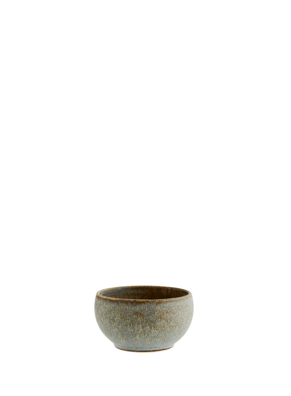 Stoneware Bowl in Taupe from Madam Stoltz