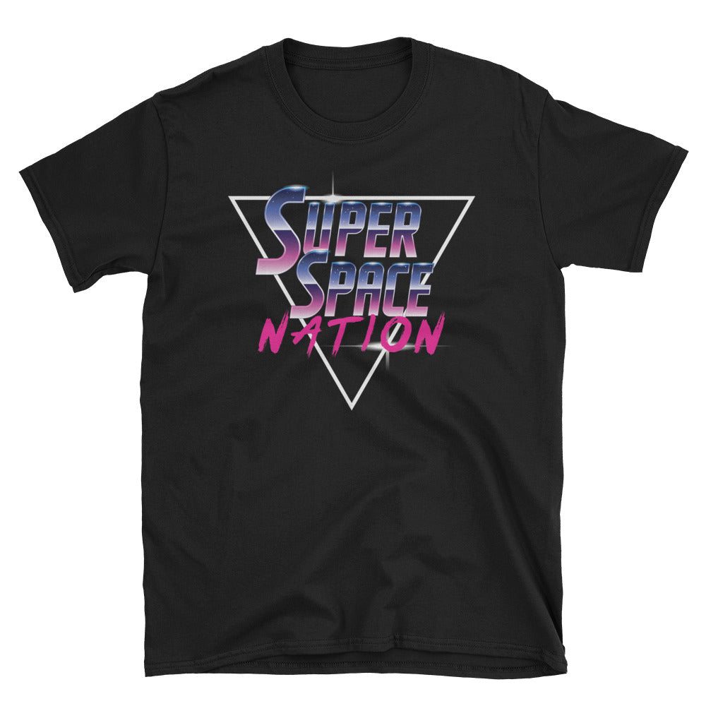 Super Space Nation - Retro Future Triangle Unisex Tee