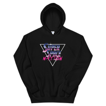 Load image into Gallery viewer, Super Space Nation - Retro Future Triangle Unisex Hoodie