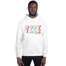 Load image into Gallery viewer, Super Space Nation - Body Talk Unisex Hoodie