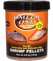 Omega One Shrimp Pellets 4.5 oz