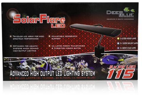 Deep Blue Solar Flare LED 115  (2.0)