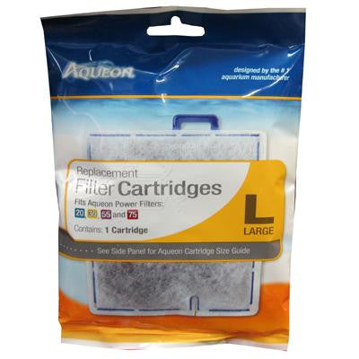 Aqueon Filter Cartridges LRG 1-Pk