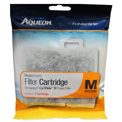Aqueon Filter Cartridges MED 1-Pk