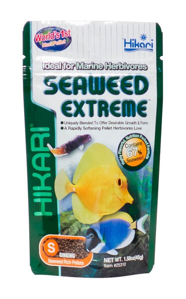 Hikari seaweed extreme fish food pellet aqua dreams for Hikari fish food