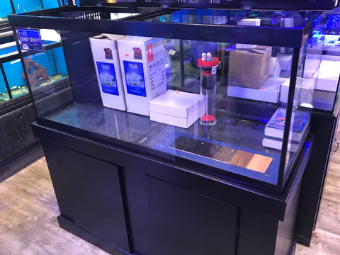 75 Gallon Aquarium w/Overflow & Cabinet