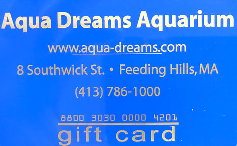 AQUA DREAMS GIFT CARD