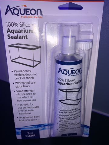 Silicone Aquarium Sealant 3 oz clear