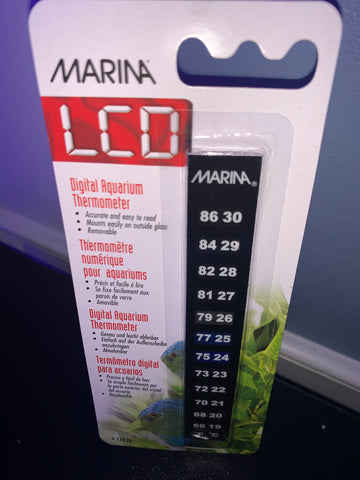Marina LCD Digital Aquarium Thermometer
