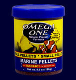 Omega Garlic Marine Pellet Food