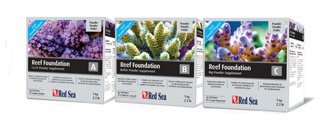 Red Sea Reef Foundation Elements - 1 KG Powder