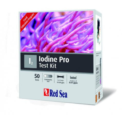 Red Sea Iodine Pro Test Kit