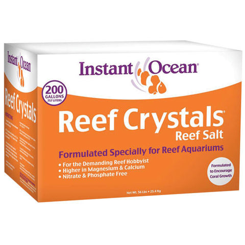 Reef Crystals Marine Salt Mix -- 200 gallon bulk box