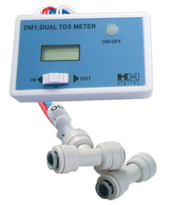 HM Digital In-Line Dual TDS Monitor