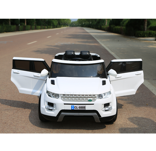 Range Rover Inspired white Ride On  Cars for kids 12V