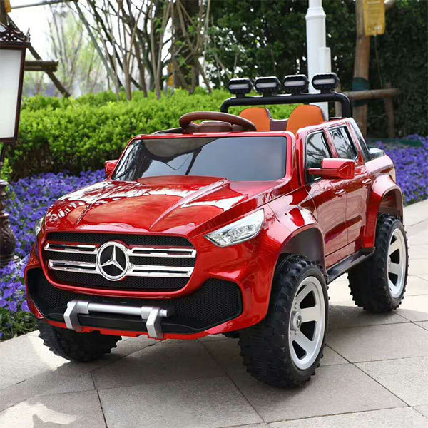 Mercedes X CLASS inspired remote control electric children car for driving/kids electric car 12V electric car 4x4