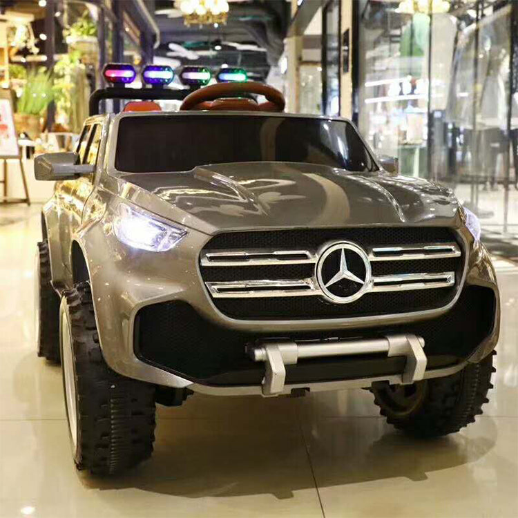 Mercedes X CLASS remote control electric children car for driving/kids electric car 12V electric car 4x4