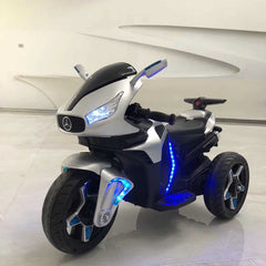 12V RIDE ON MERCEDES INSPIRED MOTORBIKE
