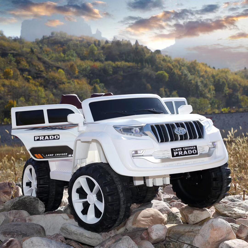 TOYOTA PRADO 12V RIDE ON CARS FOR KIDS