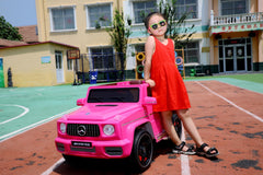 Mercedes inspired 12V *LEATHER SEATS* Ride On Car for kids